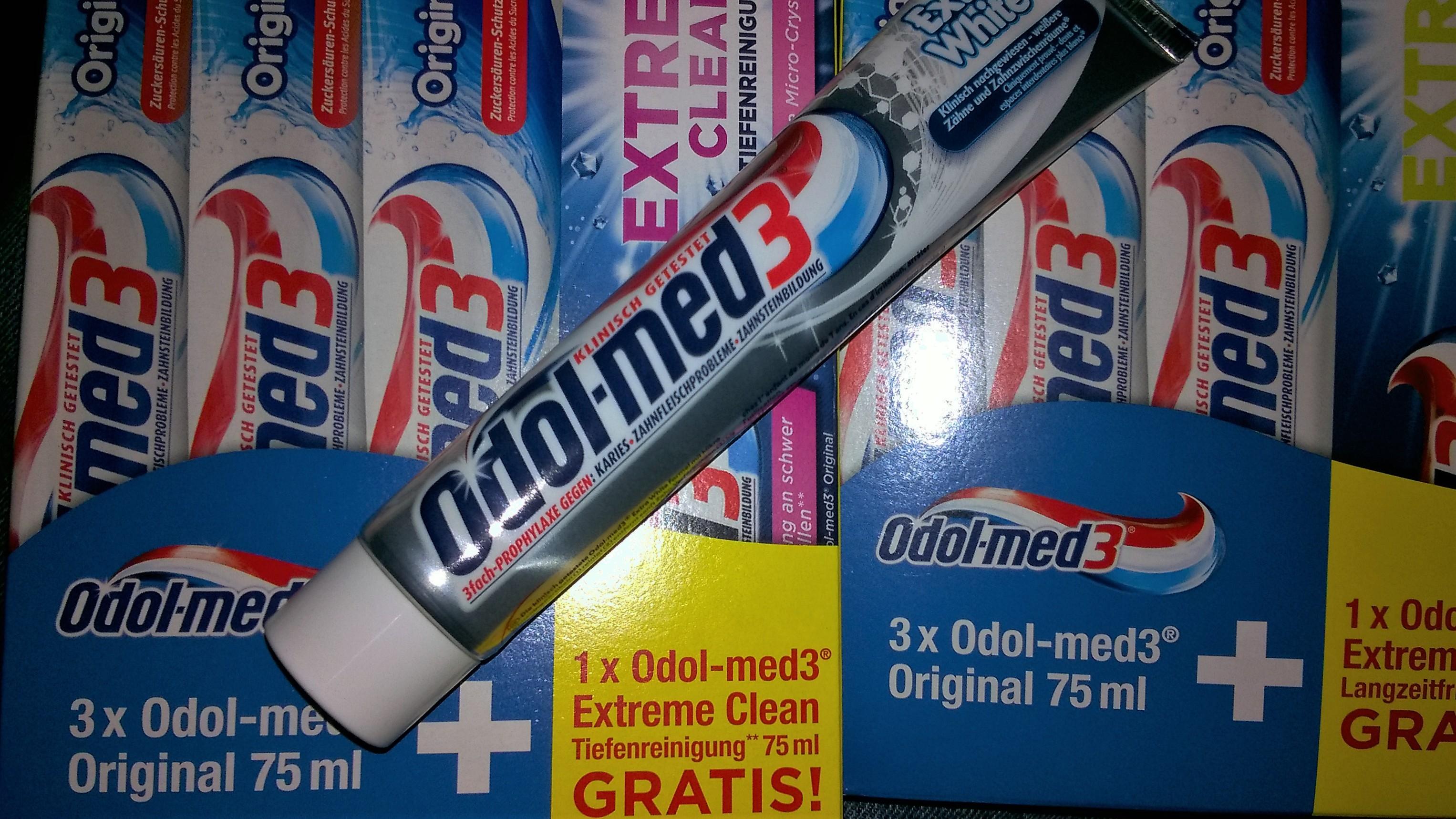 9 Tuben Odol-med 3 für 5,07 Euro (~0,56€/Tube)