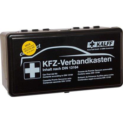 Lokal Rosenheim Aicherpark: Kalff Kfz-Verbandkasten kompakt DIN 13164 für 3,49€ [Obi]