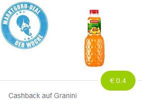 ( Marktguru ) 0,40 Euro auf Granini