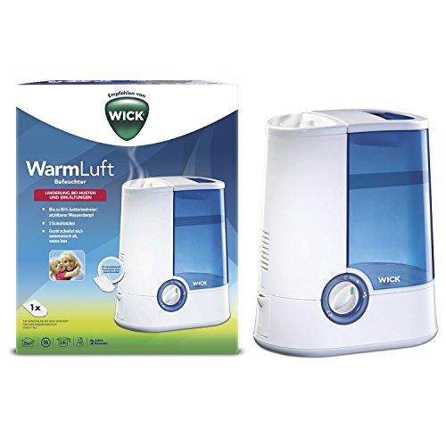 (Amazon) Wick WH750DA Warmluft-Befeuchter WH750DA 32,63 Euro