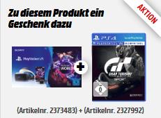Sony PlayStation VR-Brille (V2) (PSVR) inkl. Sony PS4 Kamera & VR Worlds Voucher + Gran Turismo Sport für 299€ (Media Markt)