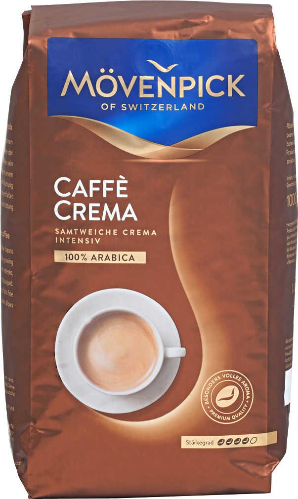Mövenpick Caffè Crema Bohnen (1000g) Kaufland