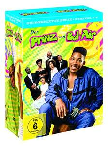 Der Prinz von Bel-Air Die komplette Serie (Staffel 1-6) Limited Edition (23 DVDs) für 29,97€ (Amazon)