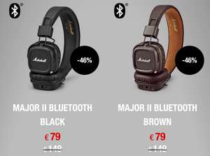 Marshall Major II Bluetooth (alle Farben)