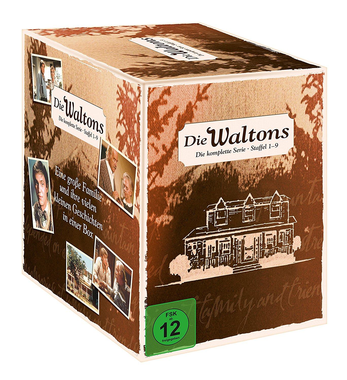 Gute Nacht John Boy /Die Waltons – Die komplette Serie (Staffel 1-9) (exklusiv bei Amazon.de) [Limited Edition] [58 DVDs] für 39,97€ bei Amazon