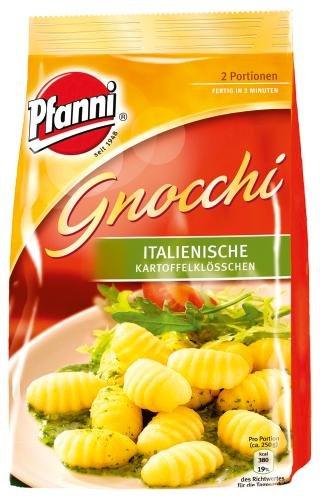 [Amazon Prime] Pfanni Gnocchi Italienische Kartoffelklößchen 2 Portionen, 5er Pack (5 x 500g) für 6,76€