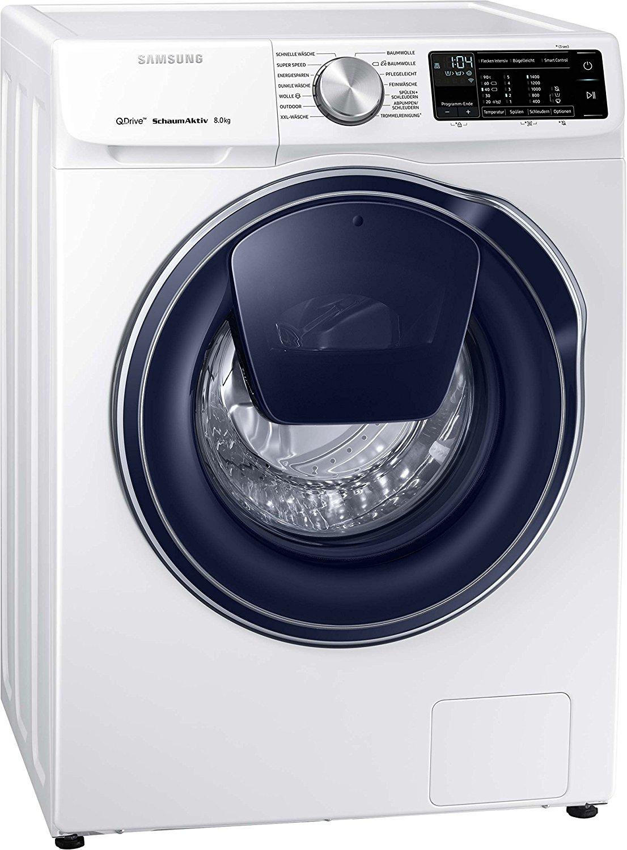 SAMSUNG QuickDrive™ WW81M642OPW/EG WW6800, 8 kg Waschmaschine, Frontlader, 1400 U/Min., A+++, Weiß [Lokal Saturn Hamburg]
