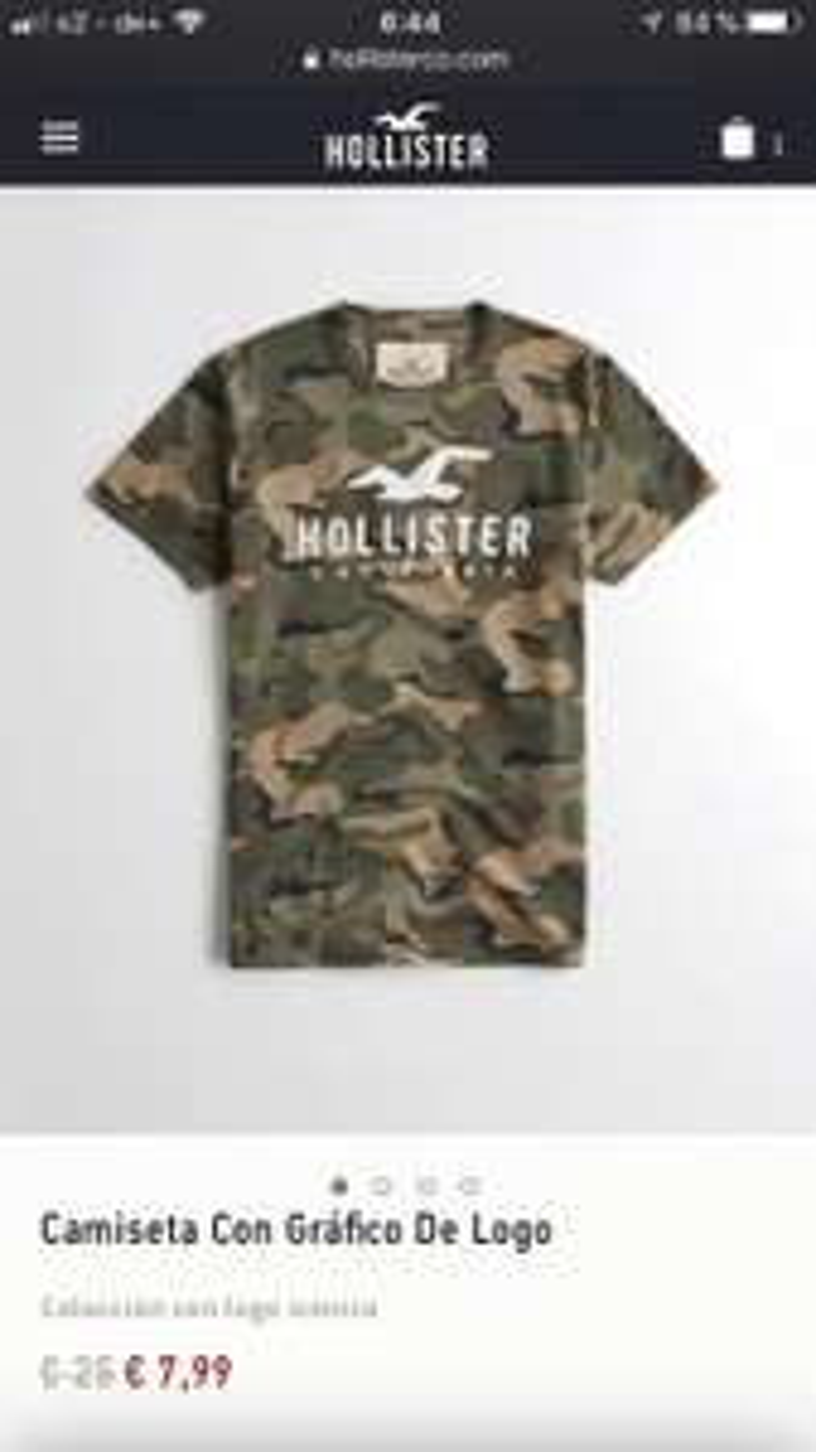 Hollister T-Shirt (Versandkosten frei)