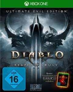 Diablo III: Reaper of Souls Ultimate Evil Edition (Xbox One & PS4) für je 14,99€ (Amazon Prime)