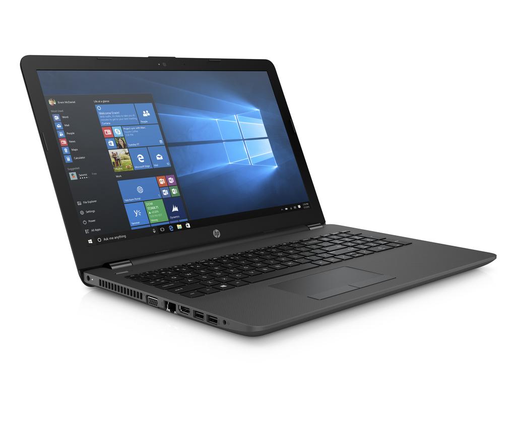 HP 250 G6 mit Core i7-7500U, 8GB RAM, 512GB SSD, 15,6 Zoll Full-HD, Gbit-LAN, WLAN ac,Windows 10