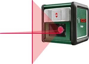 Bosch Quigo II Kreuzlinien Laser (mit Schnell-Montage-Platte) *Update*