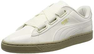 Puma Damen Basket Heart Patent Sneaker in 37,5