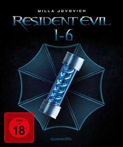 Resident Evil 1-6 Complete Collection Limited Edition Digipak (3D + 2D Blu-ray) für 44,97€ (Amazon)