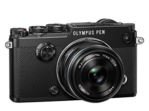 """Olympus PEN-F Systemkamera Kit inkl. 17mm 1:1.8 Objektiv  (20,3 MP, 3"""" TFT LCD-Display, elektronischer Sucher mit 2,36 Mio. OLED, Full-HD, WLAN, Metallgehäuse) schwarz für 968,23€"""