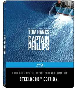 Captain Phillips Steelbook Edition (4K Mastered Blu-ray) für 10,99€ (Cede)
