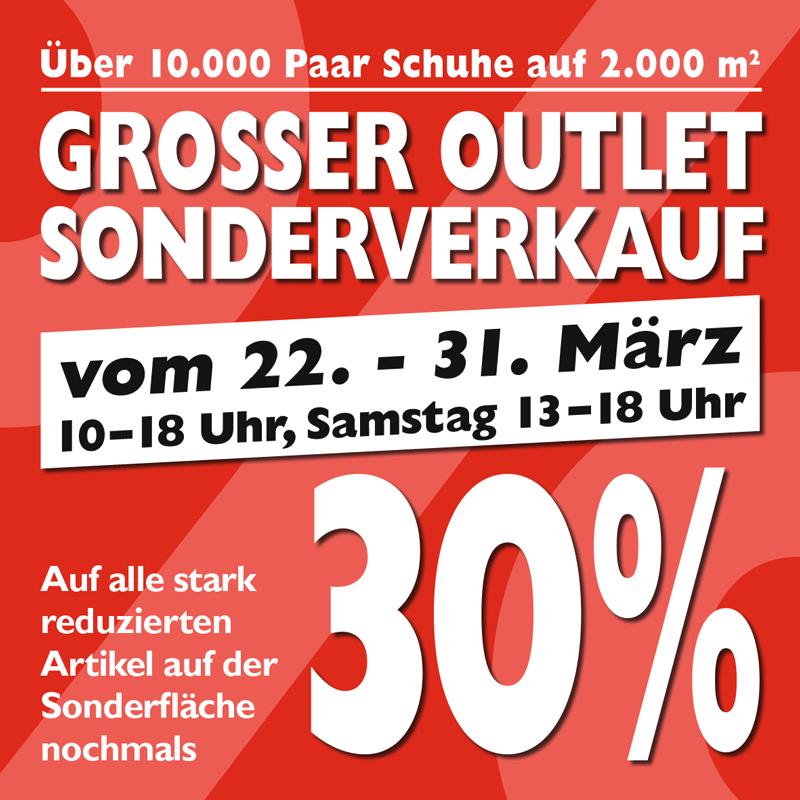 [Osnabrück] Großer Markenschuh-Outlet Sonderverkauf