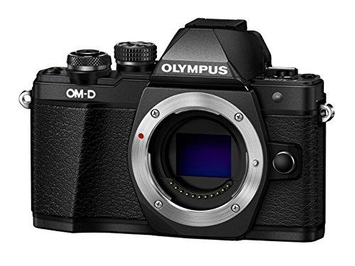 Olympus OM-D E-M10 Mark II MFT Systemkamera Body schwarz für 344,53€