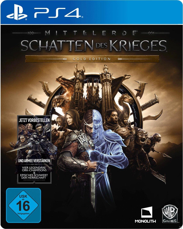 Mittelerde: Schatten des Krieges - Gold Edition (PS4) für 50€ & mit eBay Plus für 35€ (Saturn)