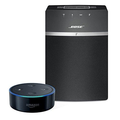 Amazon.de: Bose SoundTouch 10 Lautsprecher + Amazon Echo Dot (2nd Gen) Bundle 189,99€ schwarz oder weiß