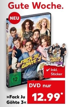 Fack Ju Göhte 3 [DVD] inkl. Sticker (OFFLiNE! ab Markt)