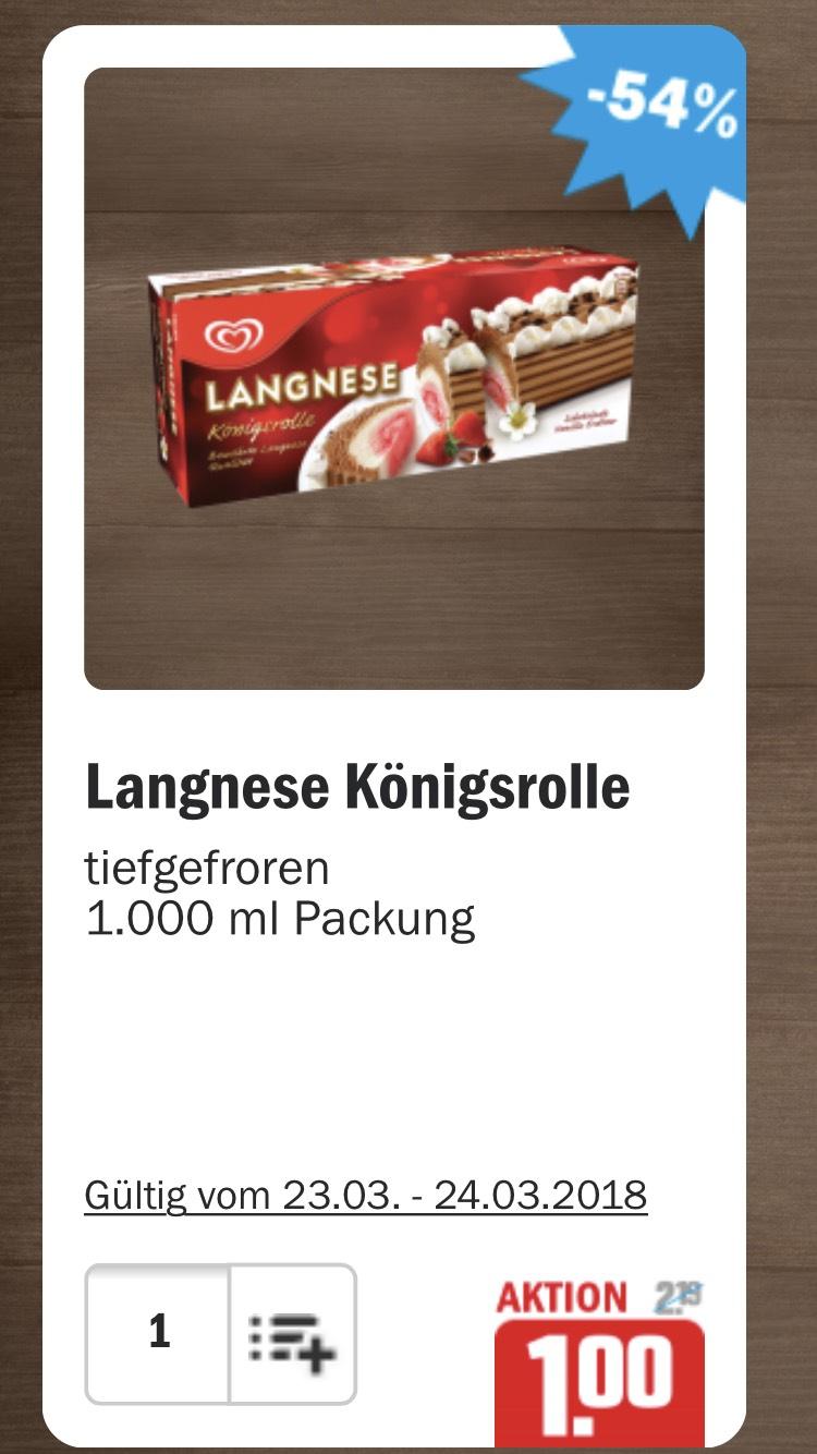 Langnese Königsrolle 1000ml für 1€ - HIT