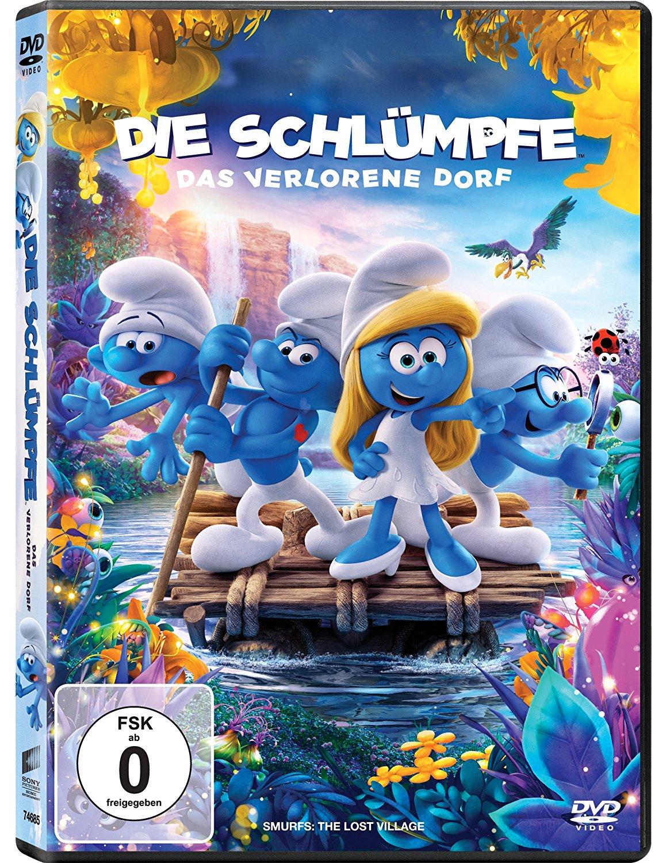 Die Schlümpfe - Das verlorene Dorf DVD 4,97 Euro bei Amazon Prime