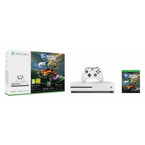 Expert Octomedia Microsoft Xbox One S 500GB Rocket League Bundle