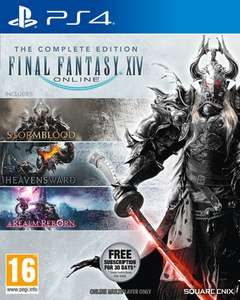 Final Fantasy XIV Complete Edition (PS4) für 21,60€ (ShopTo)