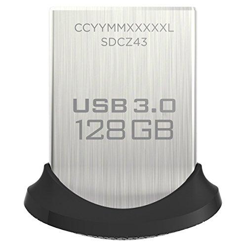 SanDisk Ultra Fit 128 GB (USB 3.0 150 MB/Sek) für 33,99€ (Amazon)
