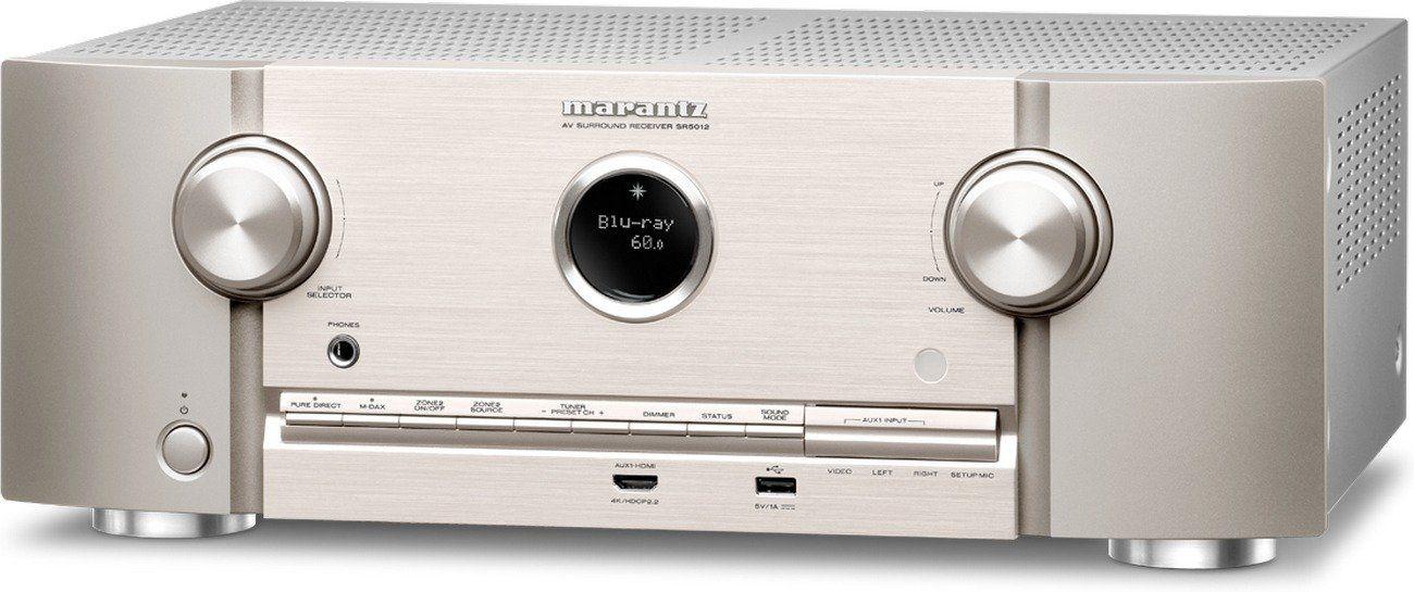 Marantz SR5012 7.2 AV Receiver HEOS/Bluetooth/Spotify/DTS:X/WLAN - Silber/Gold oder Schwarz für 499,95€ inkl.Versand [Cyberport.de]
