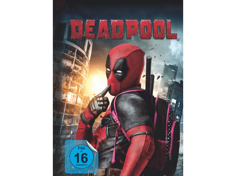 Deadpool Blu-ray Digibook mit 32-seitigem Booklet & Kinoticket für Deadpool 2