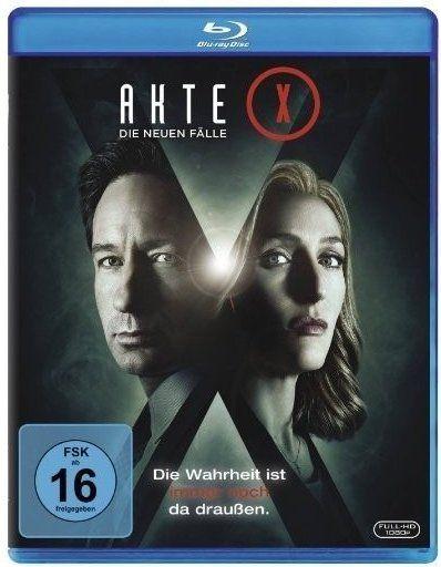 Akte X - Die neuen Fälle [Blu-ray] für 12,72€ inkl.Versand [Amazon Prime]