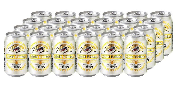 [Plus Produkt] KIRIN Ichiban japanisches Bier