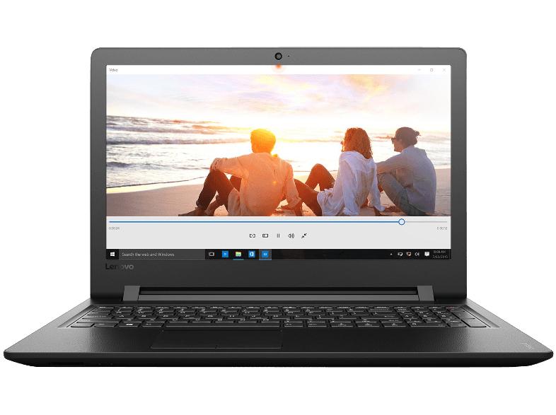 LENOVO IdeaPad 110, Notebook mit 15.6 Zoll Display, Core™ i3 Prozessor, 4 GB RAM, 1 TB HDD, Intel HD-Grafik 520, Black Texture für 319€