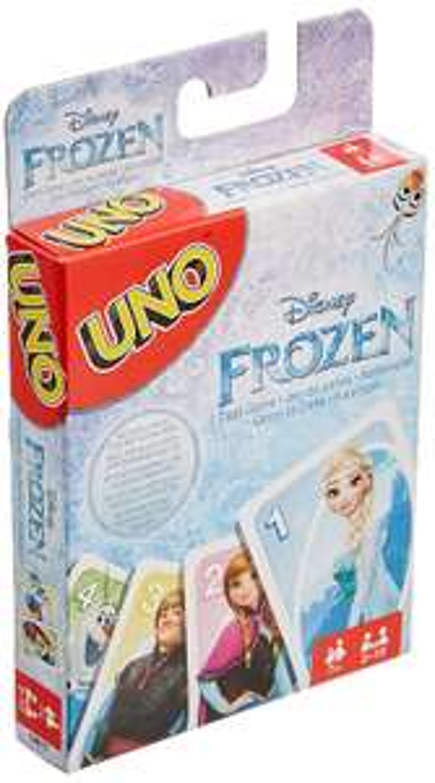 [Amazon] Mattel Spiele CJM70 - Kartenspiele, UNO Die Eiskönigin