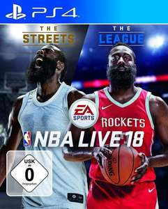 NBA Live 18: The One Edition (PS4) für 17,99€ (GameStop & Amazon Prime)