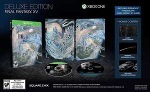 Final Fantasy XV (15) - Deluxe Edition (Xbox One) für 21,99€ (Coolshop)