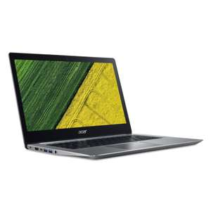 "Acer Swift 3 Notebook: 14"" FHD, Intel® Core™ i5-7200U, 256 GB SSD, 8GB RAM, GeForce MX150, Fingerprint Reader, Windows 10 für 699€ (Cyberport)"