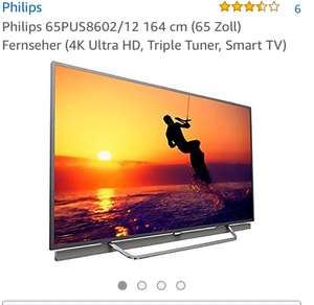 Philips 65PUS8602 TV AMAZON