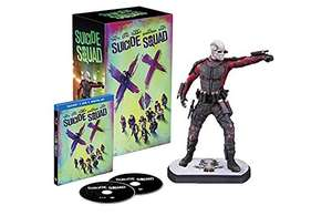 Suicide Squad (3D blu-ray extended cut) inkl Digibook & Dead Shot Figur