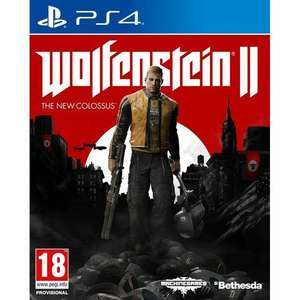 Wolfenstein 2: The New ColossusPS4