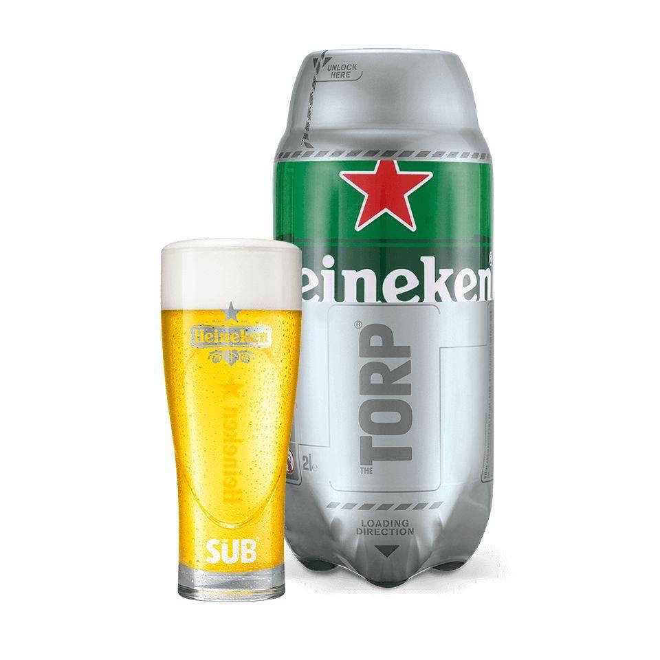 16 x Heineken TORPS für The Sub, MHD: 30.04.18