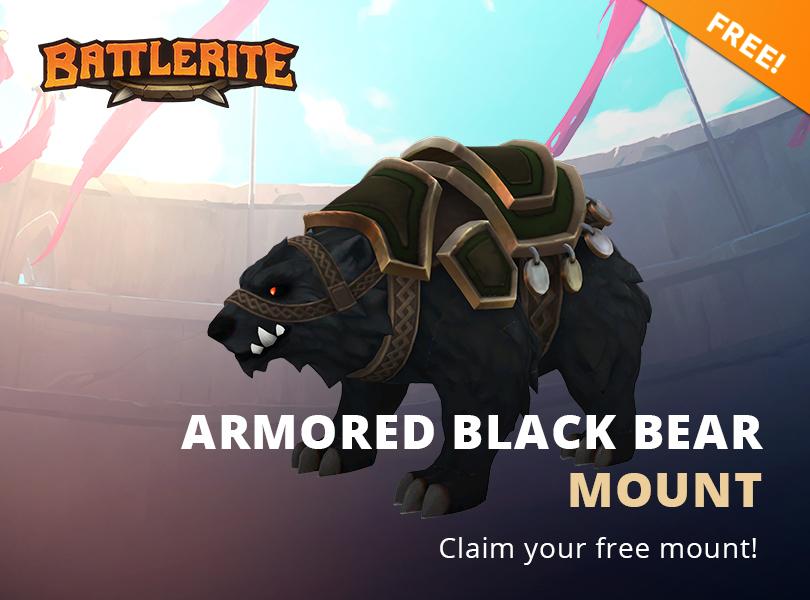 Gratis Mount für Free to Play Spiel Battlerite (einlösbar auf Steam)
