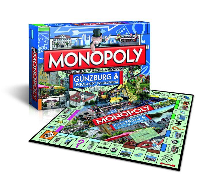 """Monopoly –Edition """"Günzburg und LEGOLAND® Deutschland"""""""