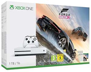 [amazon] Xbox One S 1TB Konsole - Forza Horizon 3 Bundle für 209€ oder mit Hot Wheels DLC + Wireless Controller für 229€