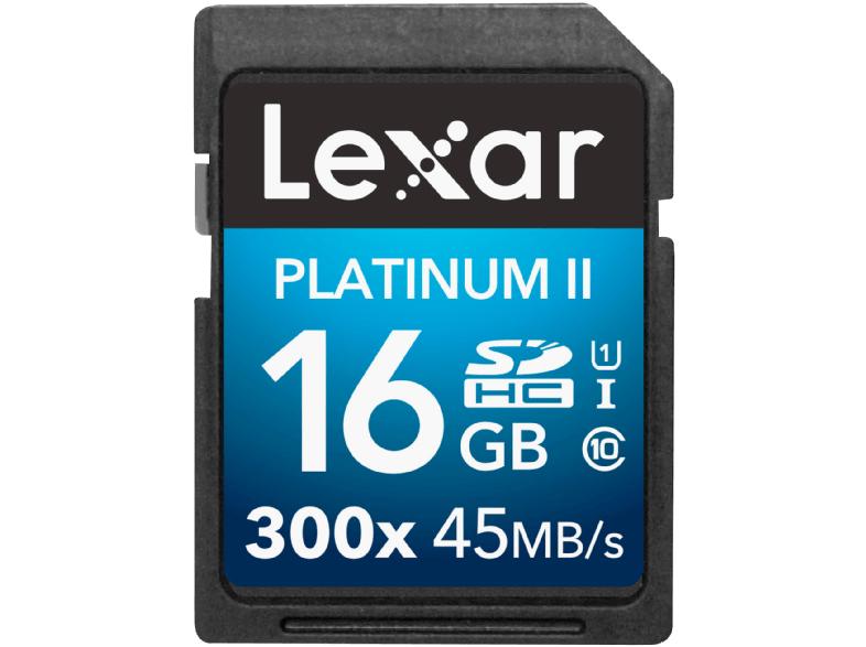 Lexar Platinum II 300x 16 GB für 5€ (Media Markt)