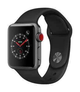 [Cyberport.de] Apple Watch 3 - Wifi + Cellular - 38mm - Schwarz + 10 Euro Shoop Gutschein + 3% Cashback