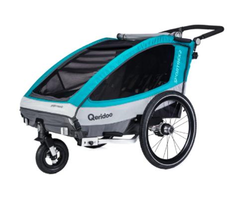 12% auf Alles im Netto Online-Shop, z.B. Qeridoo Sportrex2 Fahrradanhänger Modell 2018