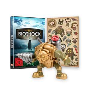 BioShock: The Collection (PS4/Xbox One) - Big Daddy Vinyl Figure and Sticker Pack Bundle für 26,86€ (2K Games)