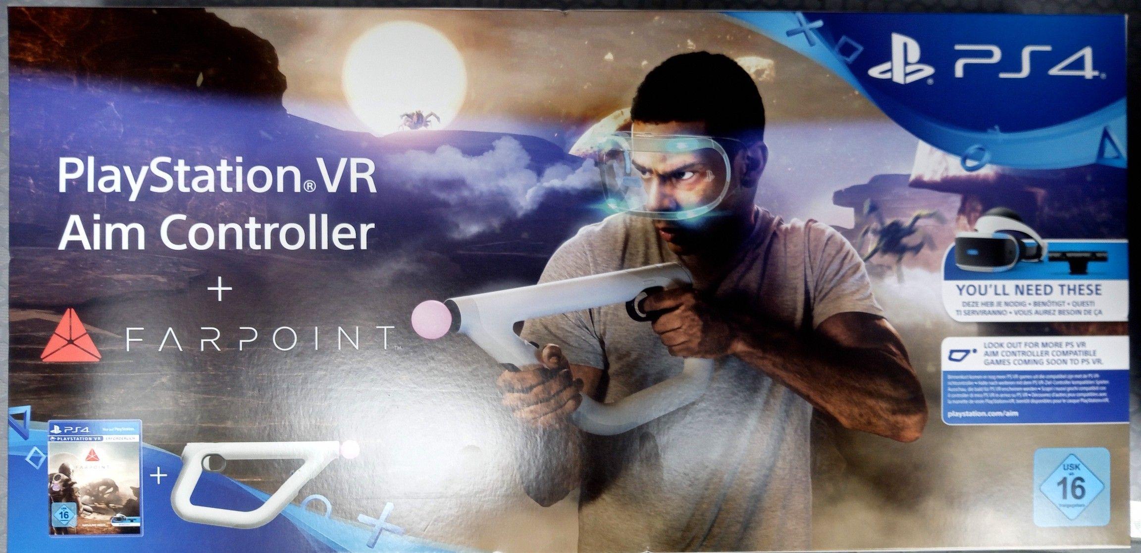 """[real,- Alzey/Ingelheim] PSVR """"Farpoint & Aim Controller"""" Bundle Abverkauf"""